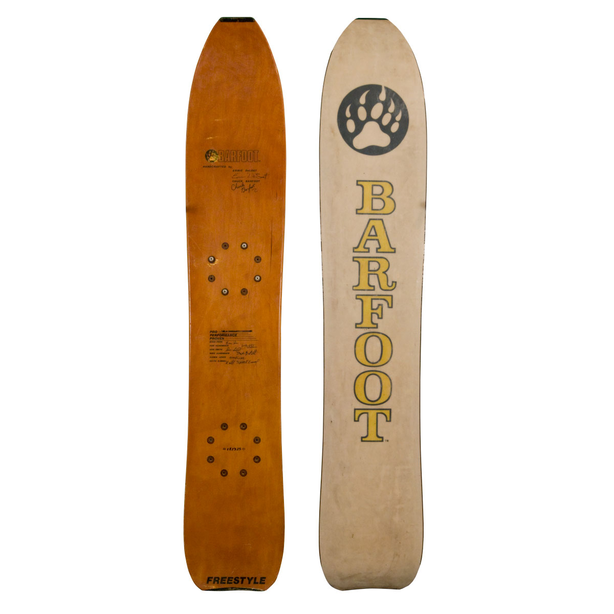 Barfoot Woody Vintage Snowboards
