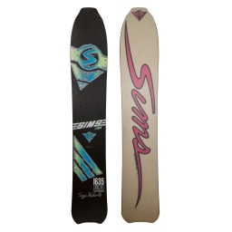Sims Terry Kidwell 1635 Vintage Snowboard