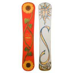 Sims Shannon Dunn Vintage Snowboard