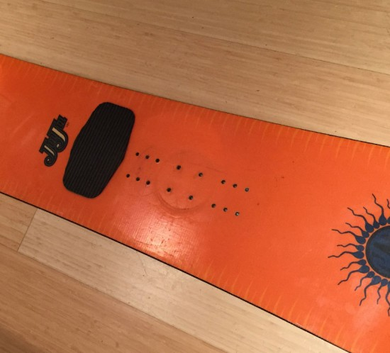 K2 Juju Vintage Snowboard