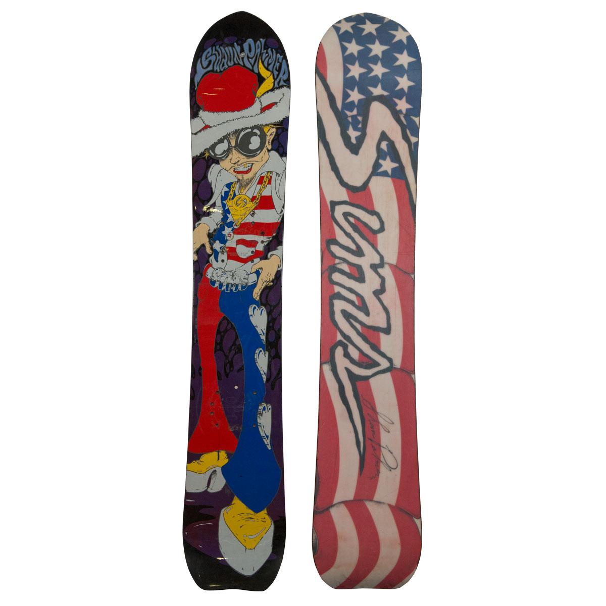 Sims Shawn Palmer Pimp Vintage Snowboard
